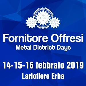 FORNITORE  OFFRESI 14-15-16 FEBBRAIO LARIO FIERE ERBA
